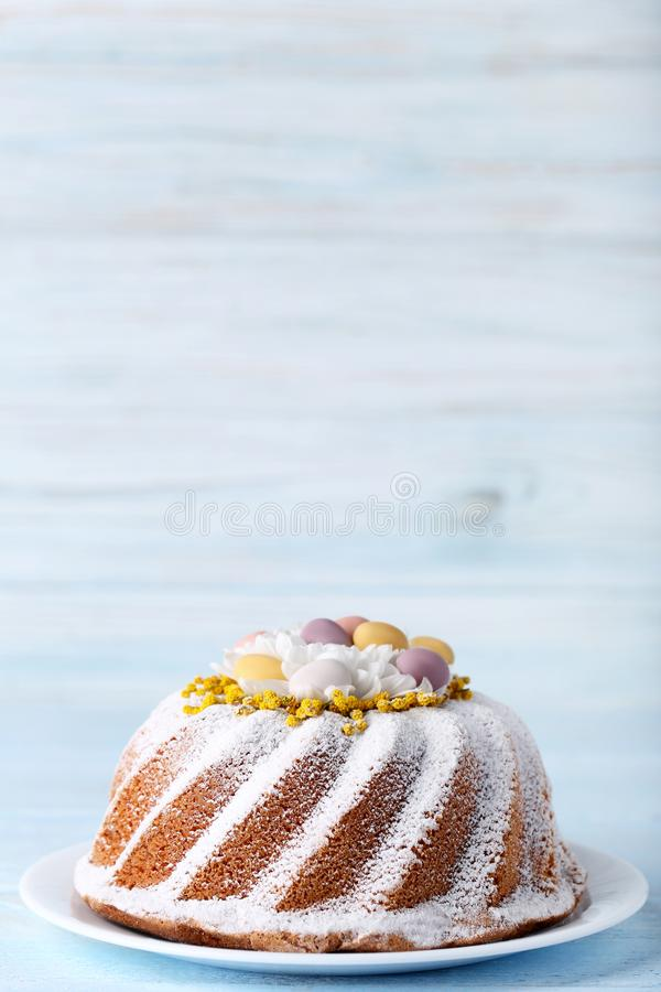 Tasty easter cake royalty free stock image