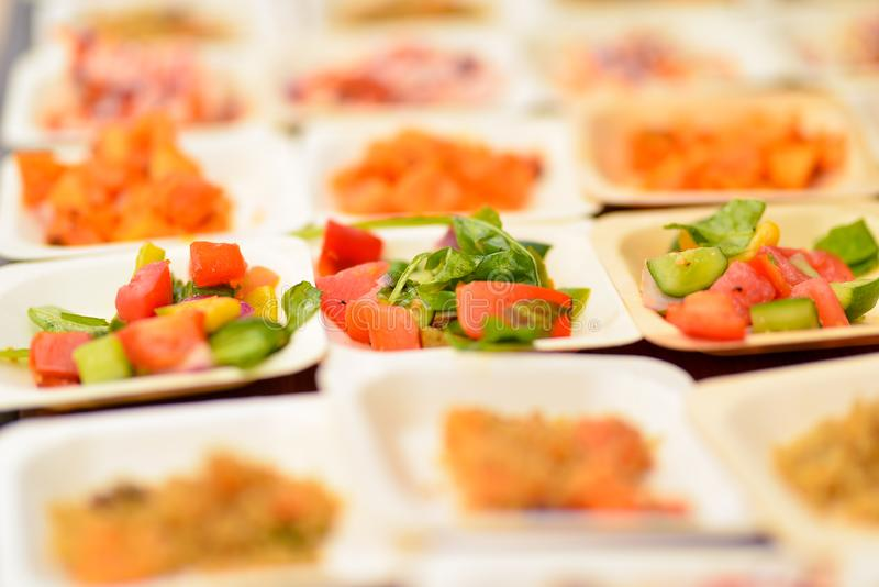 Tasty fresh food stock photography