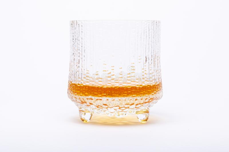 A tasty glass of single malt whiskey stock photos