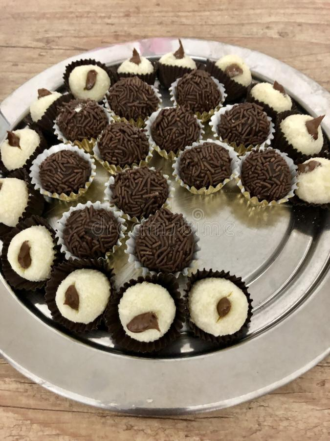 Tasty homemade Sweeties stock photography
