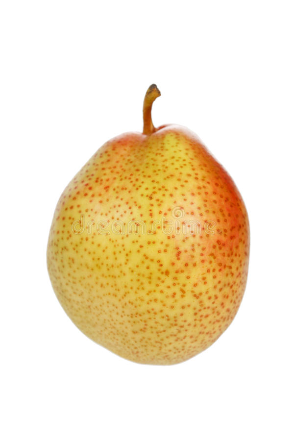 Tasty And Isolated Pear Royalty Free Stock Photo