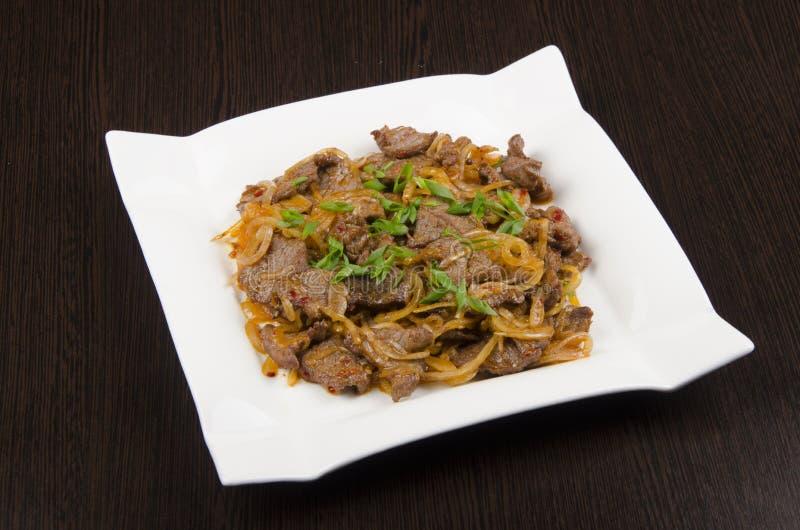 Eastern Central Asian cuisine stock photo