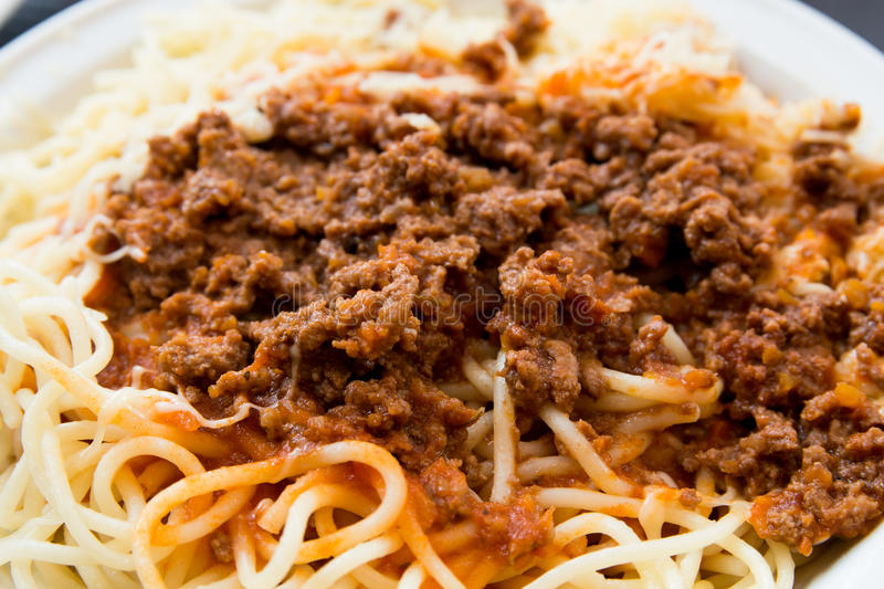Download Tasty pasta stock image. Image of dish, sausage, bolognese - 25972993