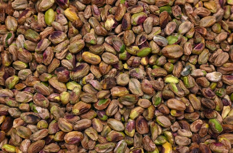Tasty Pistachio nuts Shell Removed stock image