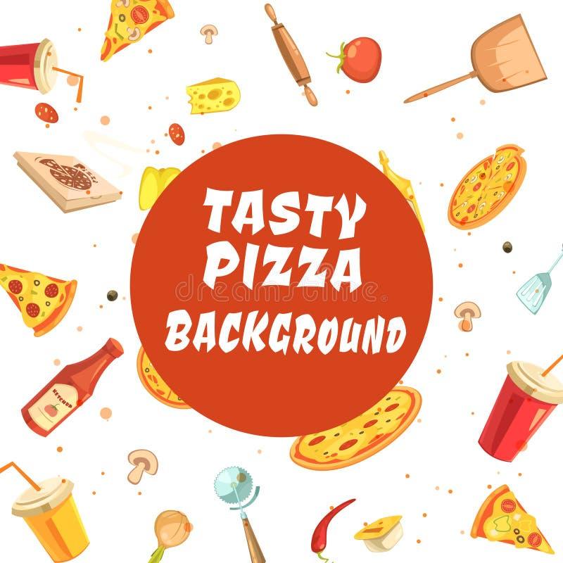 Free Tasty Pizza Making Seamless Pattern Royalty Free Stock Photo - 76953965