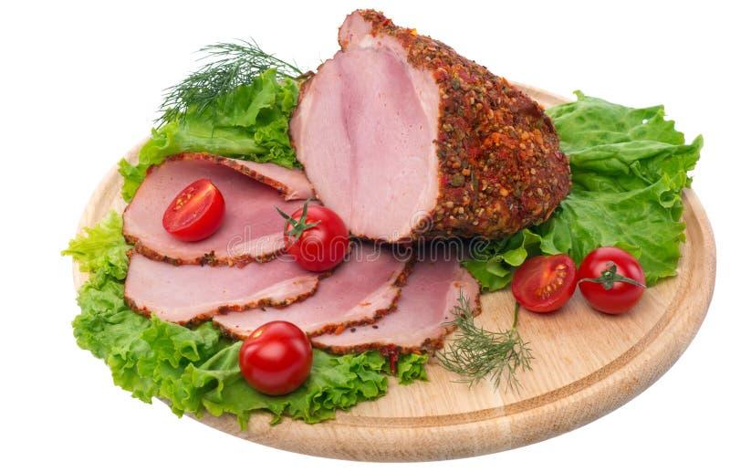 Download Tasty red ham stock photo. Image of fresh, cherry, restaurant - 25481812