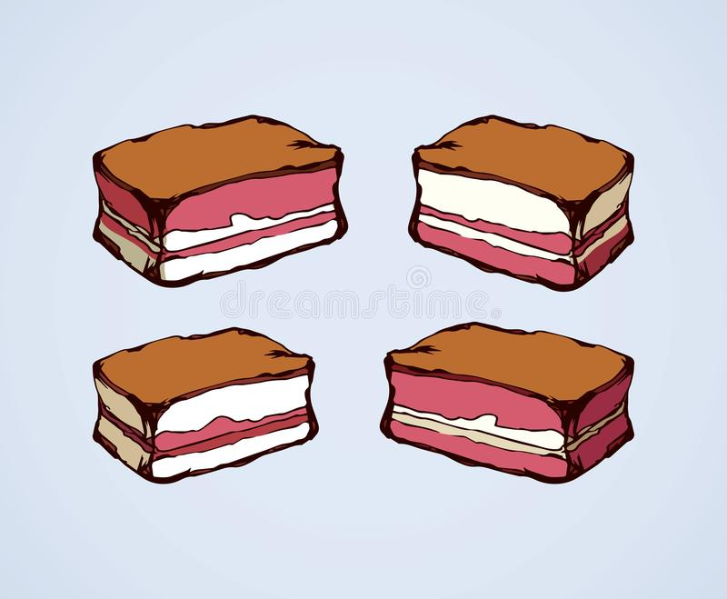 Meat. Vector drawing vector illustration