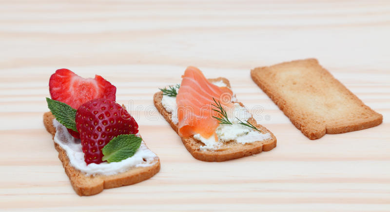 Download Tasty snack stock image. Image of diet, wood, dill, garnish - 18911083