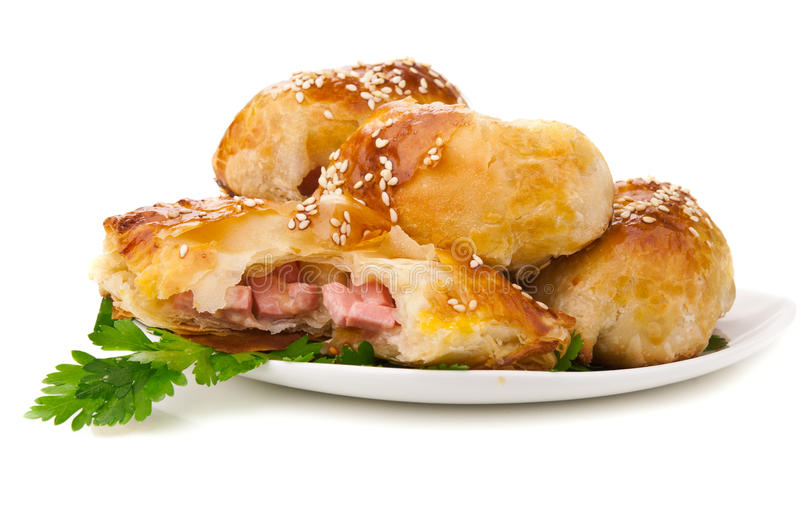 Download Tasty snack stock photo. Image of pasty, patty, meal - 25312244