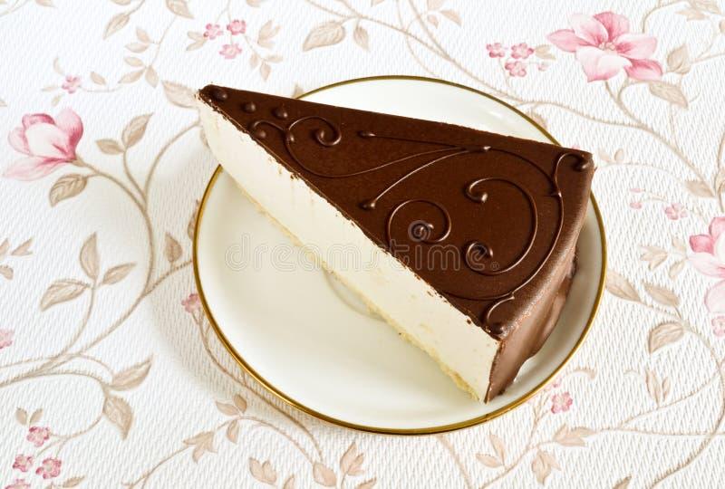Tasty souffle cake royalty free stock images