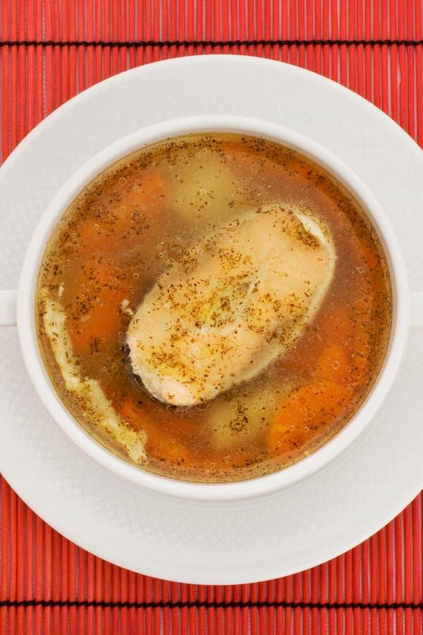 Tasty soup royalty free stock photos