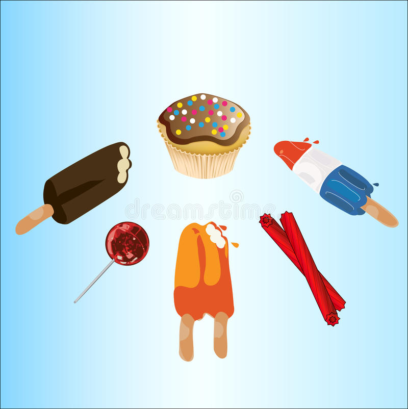 Download Tasty Treats stock vector. Illustration of child, dream - 16552553