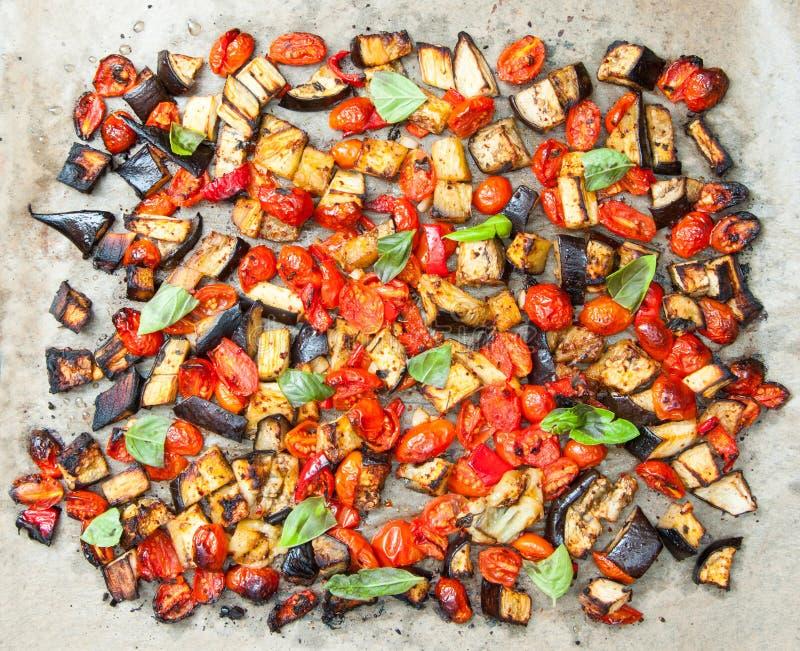 Tasty vegetable mix stock image