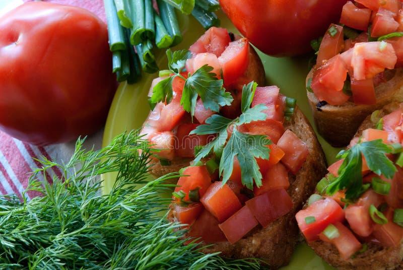 Download Tasy bruschetta 库存图片. 图片 包括有 新鲜, 鲜美, 节食, 照亮, 意大利, 苹果酱 - 30325707