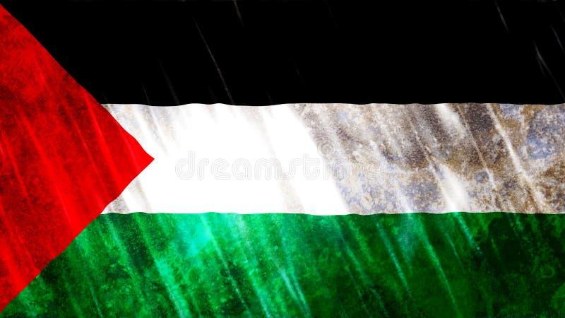 ?tat de drapeau de la Palestine photos libres de droits