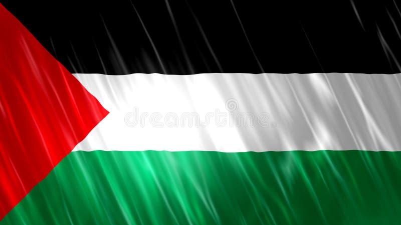?tat de drapeau de la Palestine photo stock
