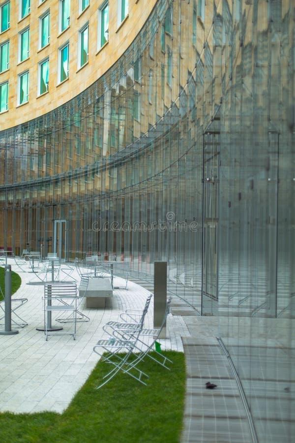 Tata Hall, de universiteit van Harvard royalty-vrije stock afbeelding