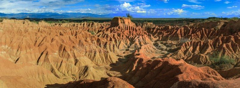 tatacoa ερήμων της Κολομβίας στοκ εικόνα με δικαίωμα ελεύθερης χρήσης