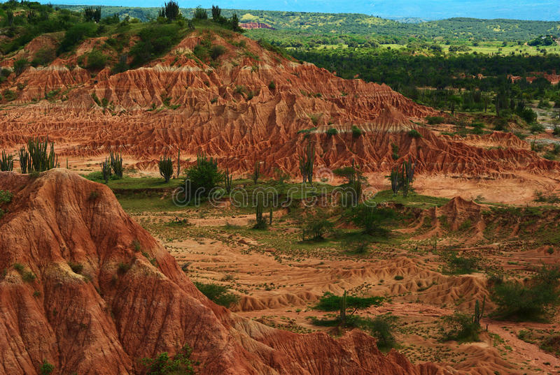 Tatacoa Desert, Colombia stock photography