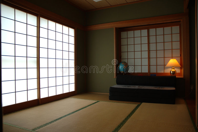 tatami δωματίων στοκ εικόνες
