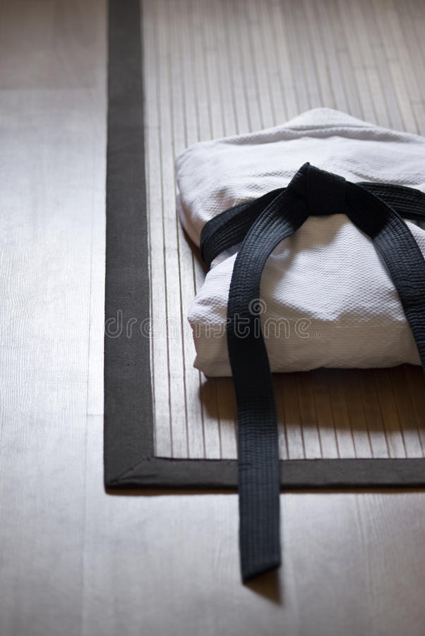 tatami τζούντου φορεμάτων στοκ φωτογραφίες