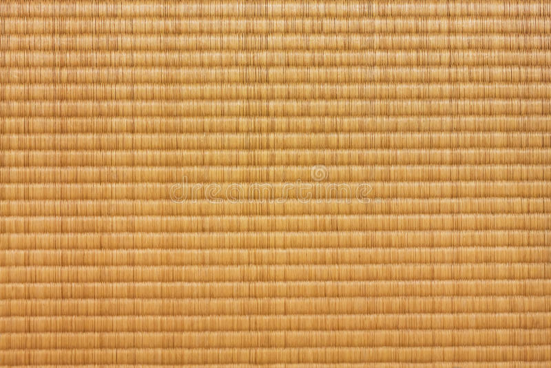 Tatami Mat. A Tatami mat inside a Japanese house royalty free stock photo
