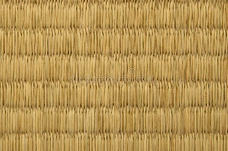 Tatami mat. Closeup of tatami mat, japanese style royalty free stock photo