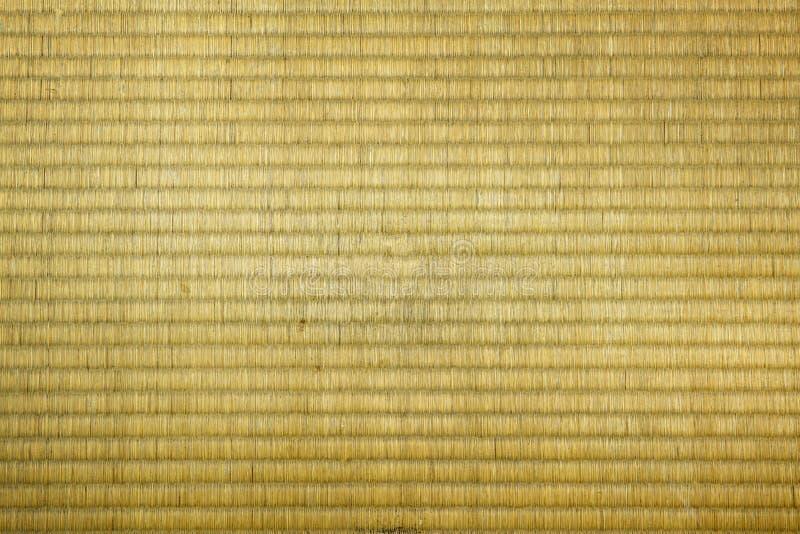 Tatami mat texture. Close up of tatami mat texture royalty free stock images