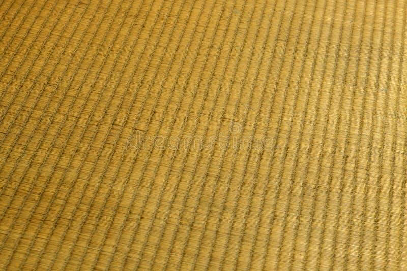 Tatami mat texture. Close up of tatami mat texture royalty free stock photos