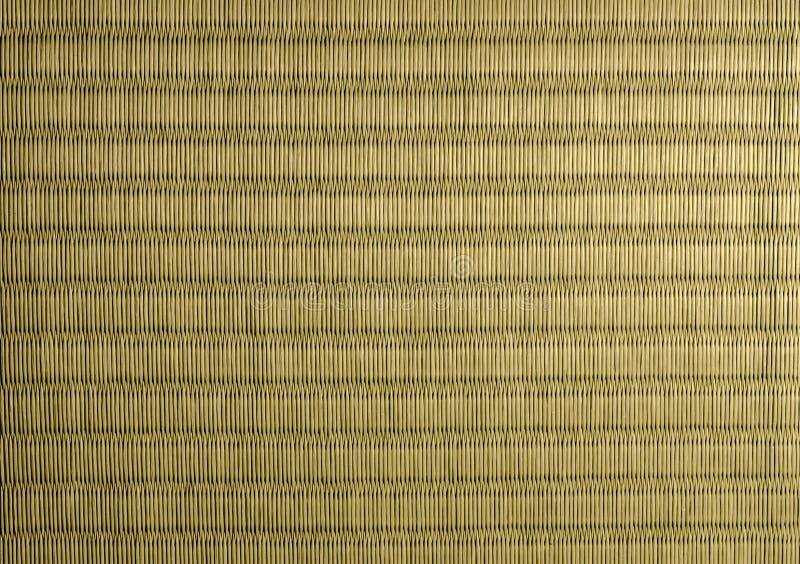 Tatami Mat Texture. High resolution close-up image of a Japanese tatami mat stock photo