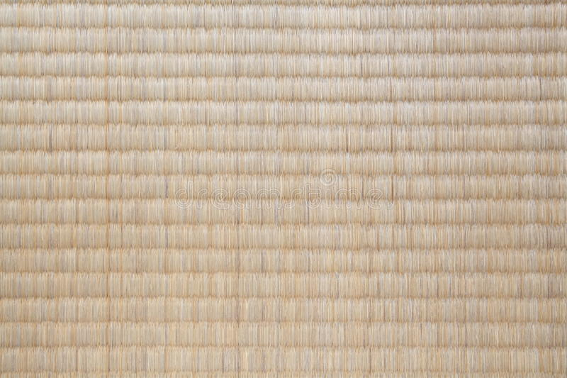 Tatami Mat. Top view of Tatami Mat background texture royalty free stock images