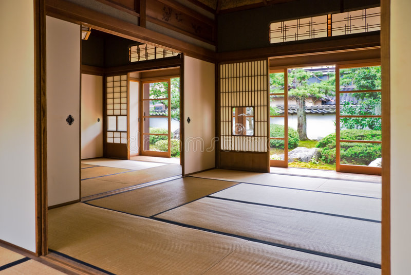 Download Tatami And Shoji The Old Japanese Room. Stock Image - Image: 6099005