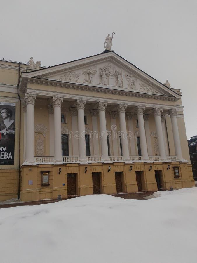 Tatar akademicki stanu teatr baletowy i opera fotografia royalty free