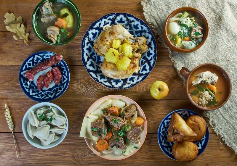 Tatar keuken royalty-vrije stock fotografie
