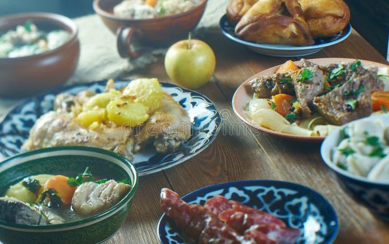 Tatar keuken royalty-vrije stock afbeelding