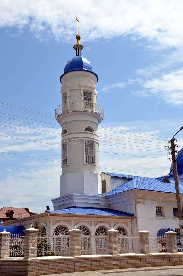 Tatar Witte Moskee royalty-vrije stock fotografie