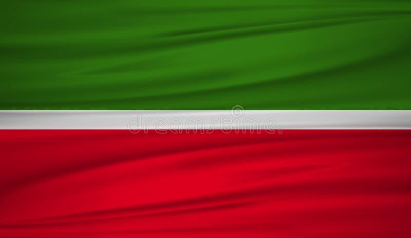 tatarstan flag vector vector flag of tatarstan blowig in the wind