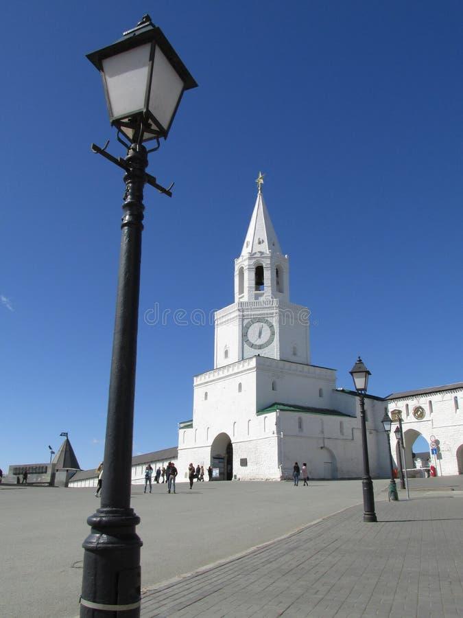 Tatarstan Piękny wierza Kazan Kremlin obrazy stock