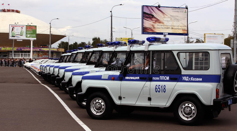 Download Tatarstan Police Days. Police Cars Editorial Stock Image - Image: 10686264