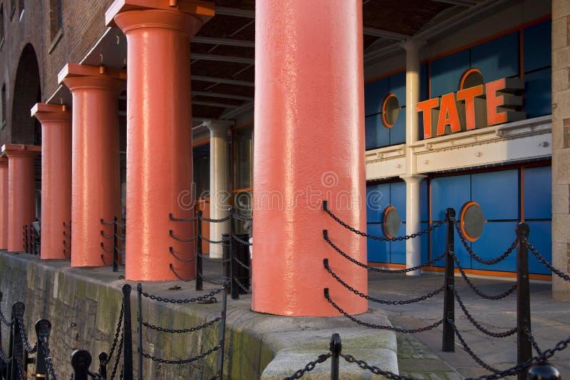 Tate Art Gallery - Liverpool - England Editorial Stock Image