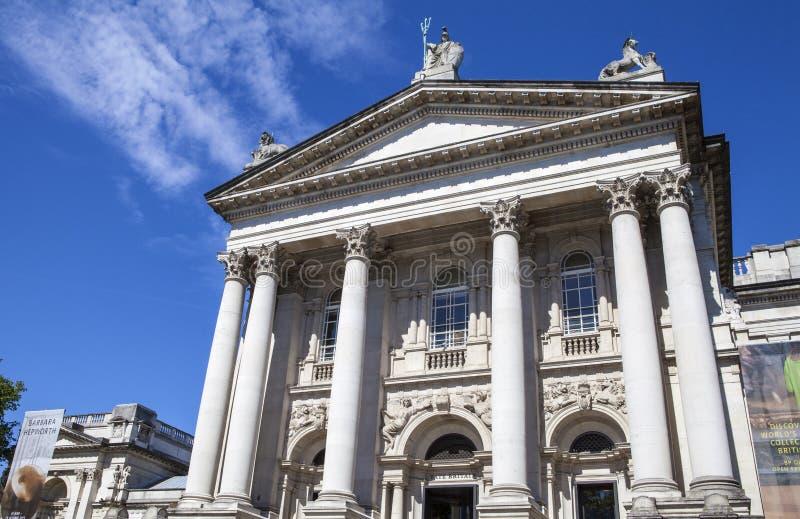 Tate Britain à Londres photo libre de droits