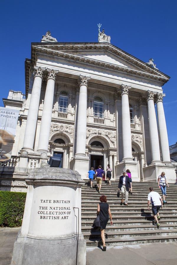 Tate Britain à Londres photographie stock libre de droits