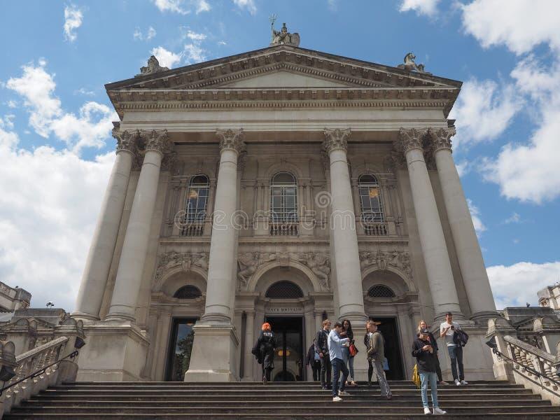 Tate Britain à Londres photo stock