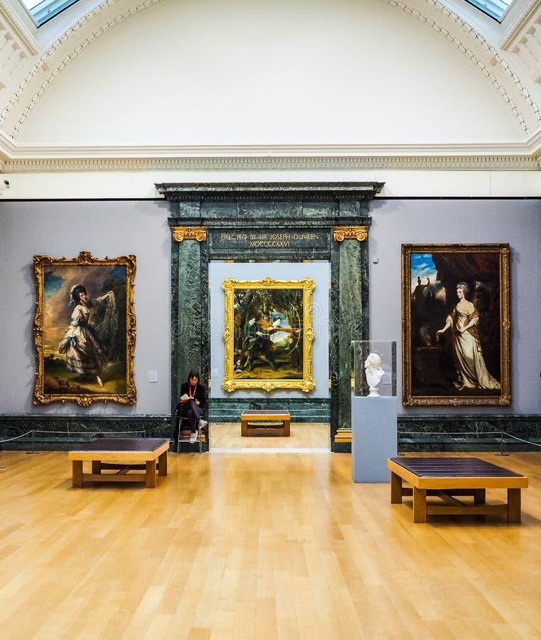 Tate Britain à Londres (hdr) photos libres de droits