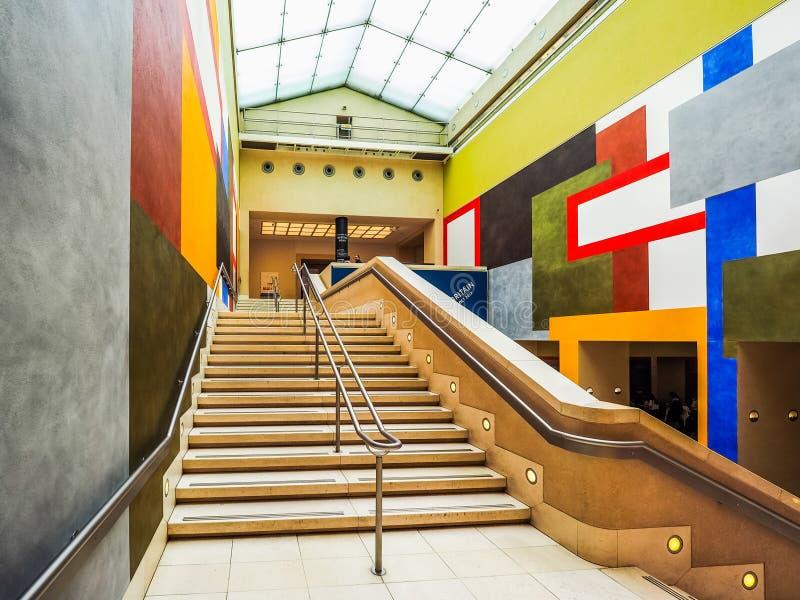 Tate Britain à Londres (hdr) images libres de droits