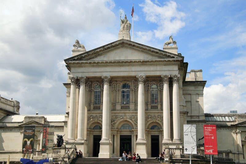 Tate Britain connue sous le nom de Tate Gallery images stock