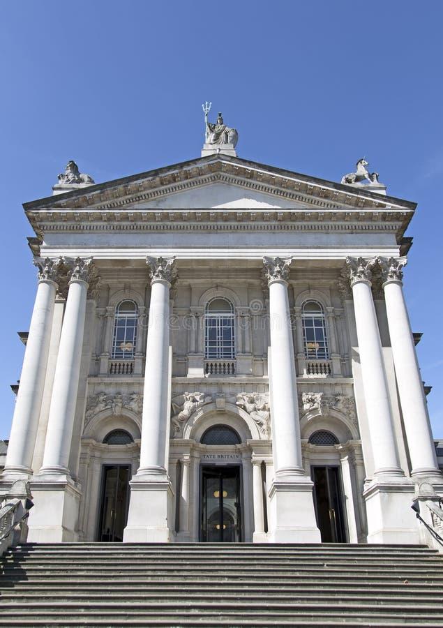 Tate Britain a Londra fotografie stock