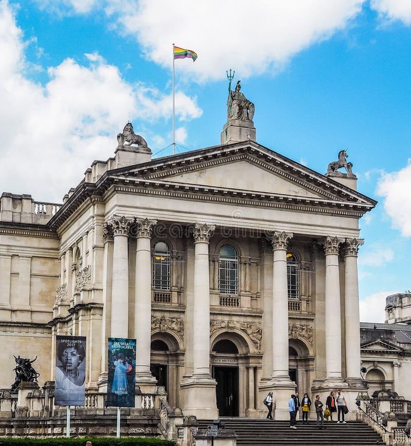Tate Britain a Londra (hdr) fotografia stock