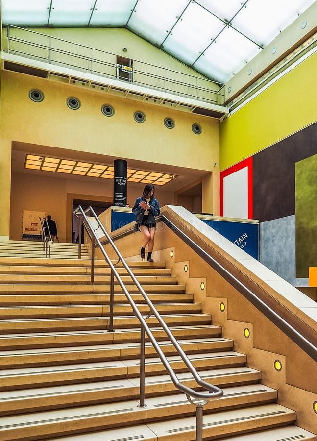 Tate Britain a Londra (hdr) fotografia stock libera da diritti