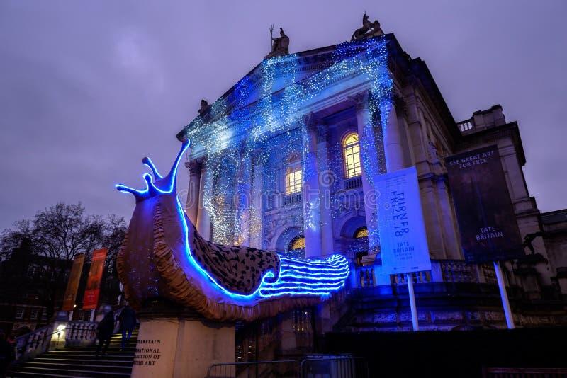 Tate Brytania galeria sztuki powierzchowność zdjęcia royalty free